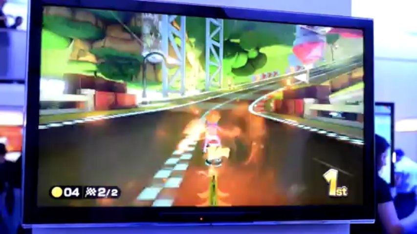 Mario Kart 8 Gameplay at E3 2013