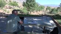 Earth-Colors ; tour du monde en ULM, Thierry Barbier vole de Las Vegas à Salt Lake par dessus le Grand Canyon, Monument valley ...