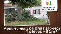A vendre - Appartement - ONDRES (40440) - 4 pièces - 81m²