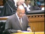 Afrique du Sud: Nelson Mandela va un peu mieux, annonce Zuma. Durée 01:14