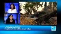 """L'ENTRETIEN - Caroline Poiron, co-auteur de """"Attentat Express : qui a tué Gilles Jacquier ?"""""""