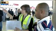 Grèves: à Roissy, les annulations et les retards continuent - 12/06