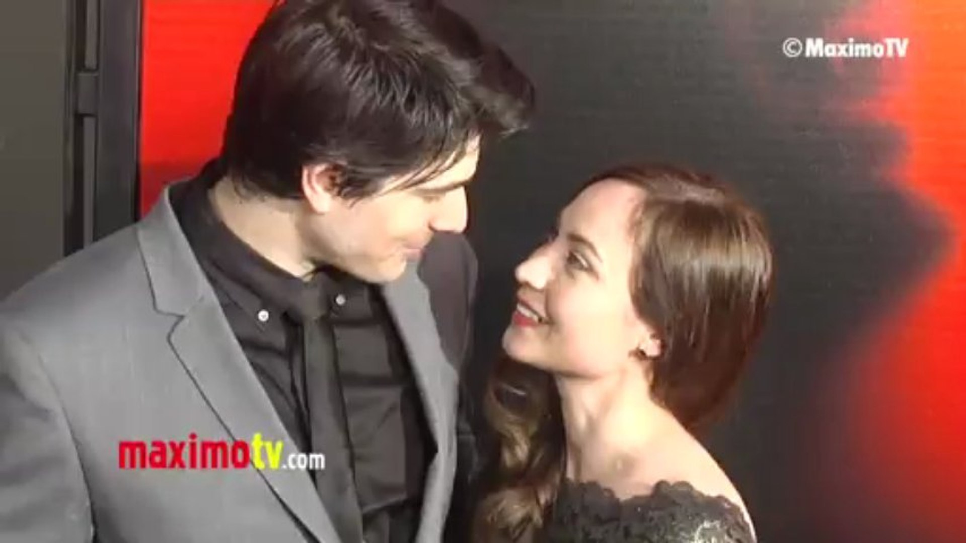 Brandon Routh and Courtney Ford TRUE BLOOD Season 6 Premiere ARRIVALS