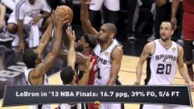 NBA Finals: How Spurs Dominate LeBron