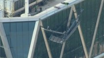 Window washers rescued from 45th floor