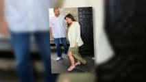 Pregnant Kim Kardashian Laughs Off Kanye West Cheating Allegations at Lunch