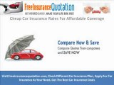 Cheap Car Insurance Rate For Affordable Price