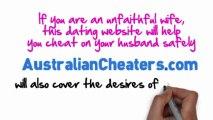 Australian Cheaters   Have an Affair Australia   Married Dating