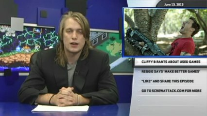 Hard News 06/13/13 - FFXV to have direct sequels, CliffyB's used games rant, and Reggie's advice - Hard News
