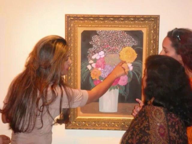 Preview: Soraya Sikander's 'A Floral Symphony' (2010)