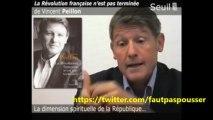 """La Religion Laïque et anti-Catholique de Vincent Peillon: """" La révolution Française n' est pas terminée"""""""