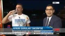 Sermiyan Midyat'tan canlı yayın protestosu-CNN TÜRK