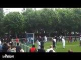 Ivry-sur-Seine (94) : bagarre générale lors d'un match de football amateur