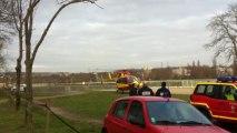 hélicoptère EC145 sécurité civile hippodrome de Maisons-Laffitte