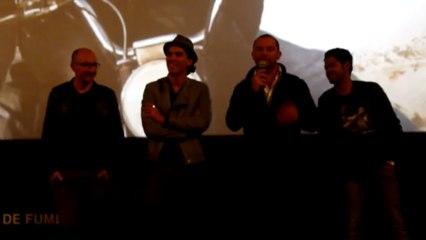 Avant-première du film Né quelque part au Gaumont de Saint-Denis.