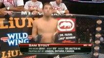 Jake Shields vs Tyron Woodley fight video