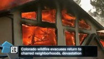Colorado Breaking News: Crews Working to Get More COLORADO Fire Evacuees Home