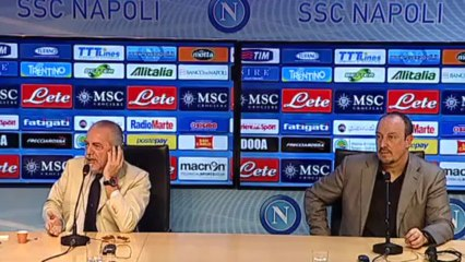 Presentazione Benitez - Napoli