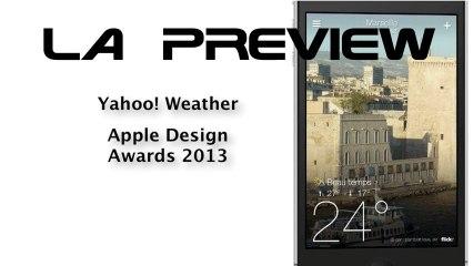 YAHOO! WEATHER - Apple Design Awards 2013