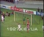 КОК 1985/1986  Финал Динамо Киев - Атлетико Мадрид 3:0 Обзор Футбольного обозрения