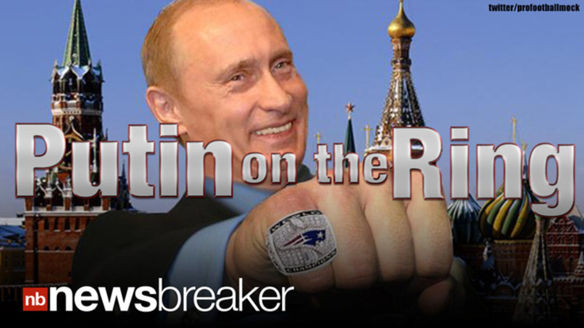Putin On The Ring Russian President Denies Stealing Super Bowl Ring Video Dailymotion