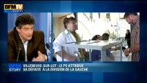 BFM STORY: Villeneuve-sur-lot, le PS attribue sa défaite à la division de la gauche - 17/06