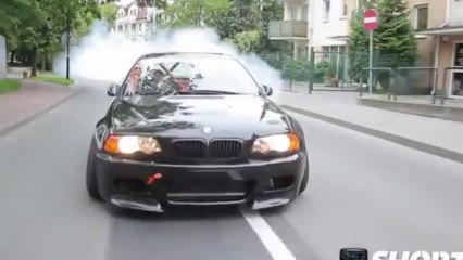 awesome bmw drift