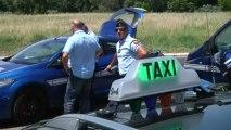 Lutte contre les taxis clandestins : un contrôle de gendarmeries aux abords de l'aéroport