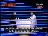 Tunisian Salafi Cleric Khamis Mejri Rejects Democracy and Praises Bin Laden