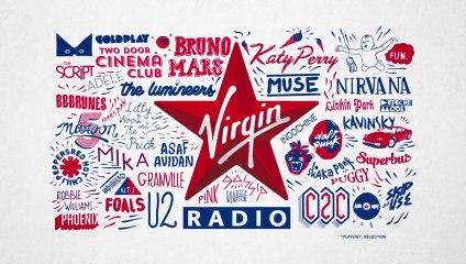 Virgin Radio, La playlist Pop Rock Electro !!