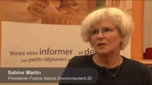 Sabine Martin, Présidente de France Nature Environnement de Tarn-et-Garonne : Pollution des sols et de l'eau : l'importance d'agir avec tous les acteurs.