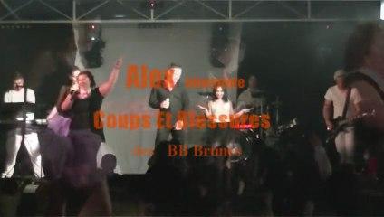 Anthracite cover Coups Et Blessures - BB Brunes  orchestre vatiété Mariage 0324332310