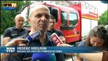 """Homme sur la Tour Eiffel: """"il voulait être filmé à partir d'un hélicoptère"""" - 18/06"""