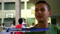 Brésil: le football social de la Fondation Cafu