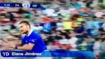 espoirs espagne vs espoirs Italie (4-2)