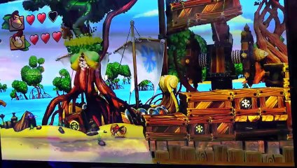 E3 Donkey Kong Country Tropical Freeze gameplay
