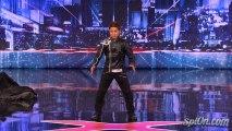 Kenichi Ebina - Matrix Robot Dancer - Americas Got Talent 2013 Auditions