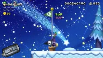 Call of Duty: Ghost for Wii U and New Super Mario Bros U: Luigi