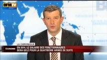 Chronique éco de Nicolas Doze: les salaires des fonctionnaires gelés en 2014 - 19/06