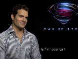Interview de Henry Cavill aka Man Of Steel