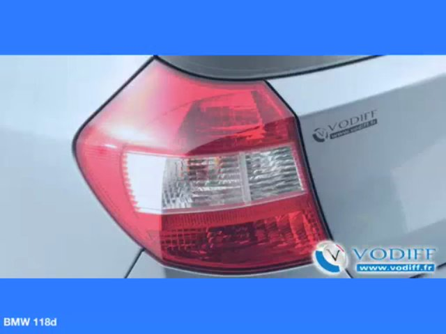 VODIFF : BMW OCCASION ALSACE : BMW 118d