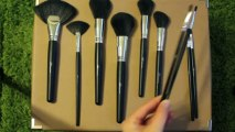 Face Brushes Flawless Look Makeup Brush Kit Video Review