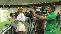Football : la belle Ines Sainz fait tourner les têtes lors de la Coupe des Confédérations