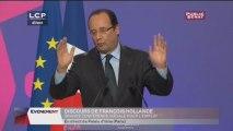 """Evénements - Discours de François Hollande en ouverture de la """"Grande Conférence Sociale"""""""