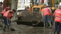 Une crue exceptionnelle dévaste les sanctuaires de Lourdes