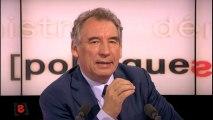 Affaire Tapie : les institutions sont responsables pour François Bayrou