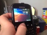 Vidéophone test Samsung chat 335