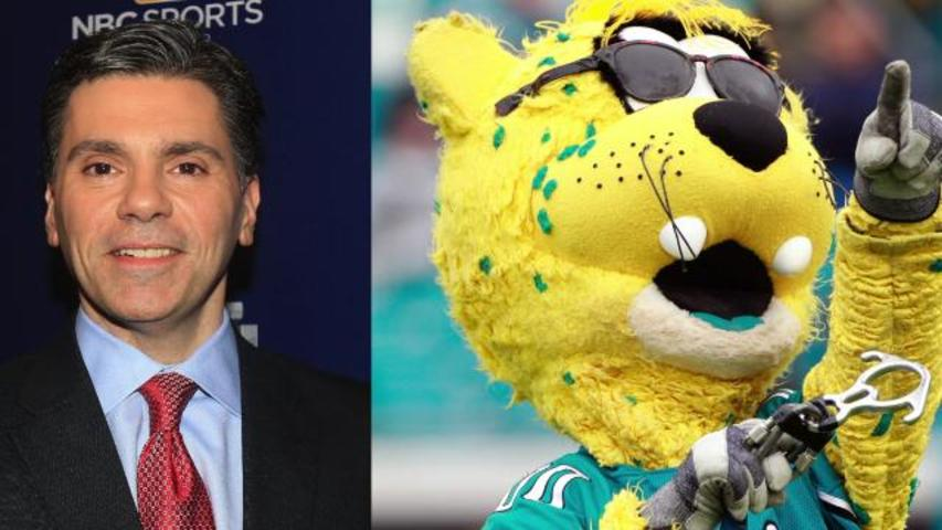 NFL Reporter gets into Twitter Fight with NFL Mascot