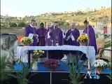Cimitero piano gatta santa messa dei defunti 02 11 2012 Agrigento tv