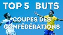 Top 5 des plus beaux buts de la Coupe des Confédérations (semaine 1)